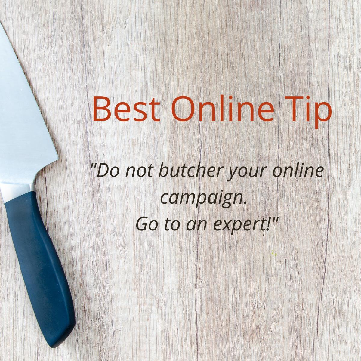 Best Online Marketing Tip